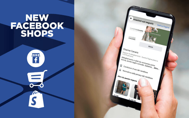facebook shops smartphone